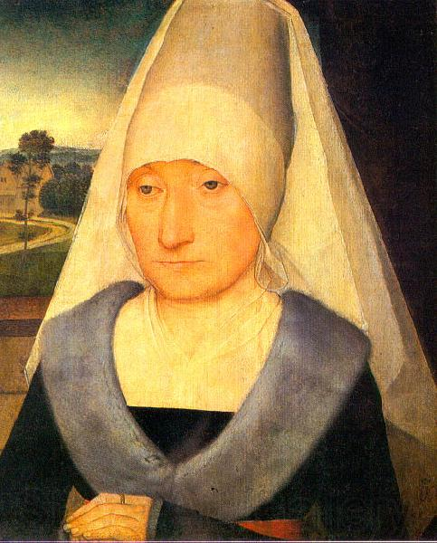 Hans Memling Portrait of an Old Woman