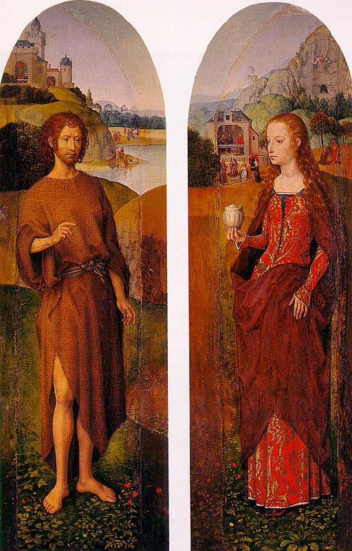 Hans Memling Outer Wings of a Triptych