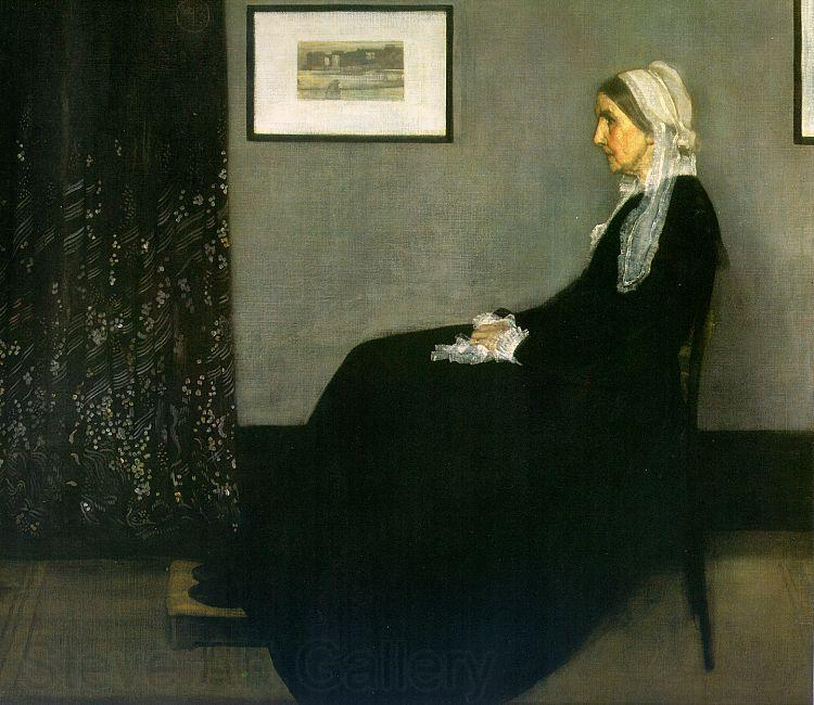 James Abbott McNeil Whistler Portrait of the Artist s Mother