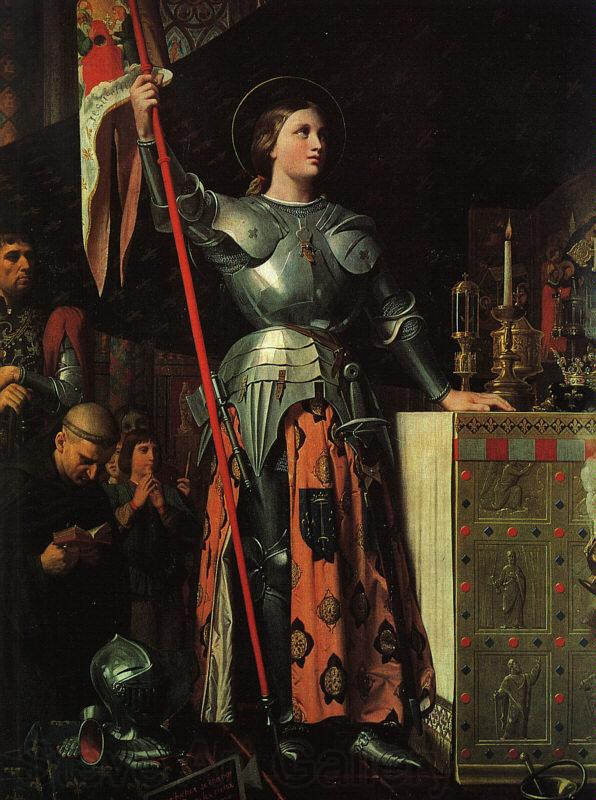 Jean-Auguste Dominique Ingres Joan of Arc at the Coronation of Charles VII