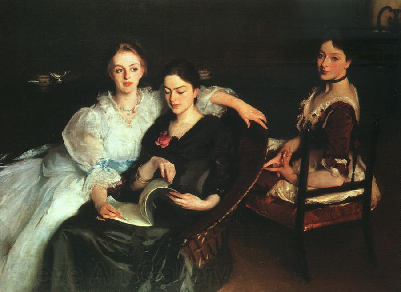 John Singer Sargent The Misses Vickers
