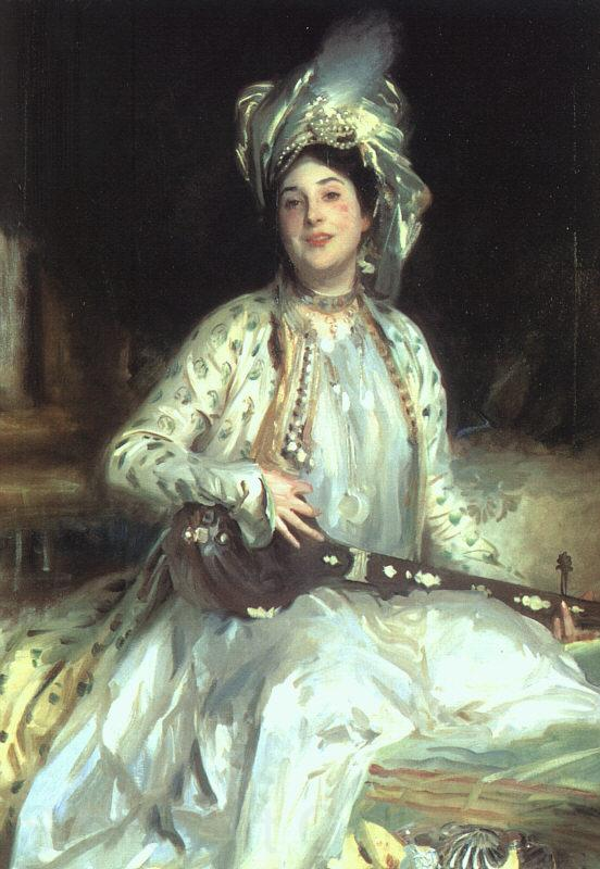 John Singer Sargent Almina, Daughter of Asher Wertheimer