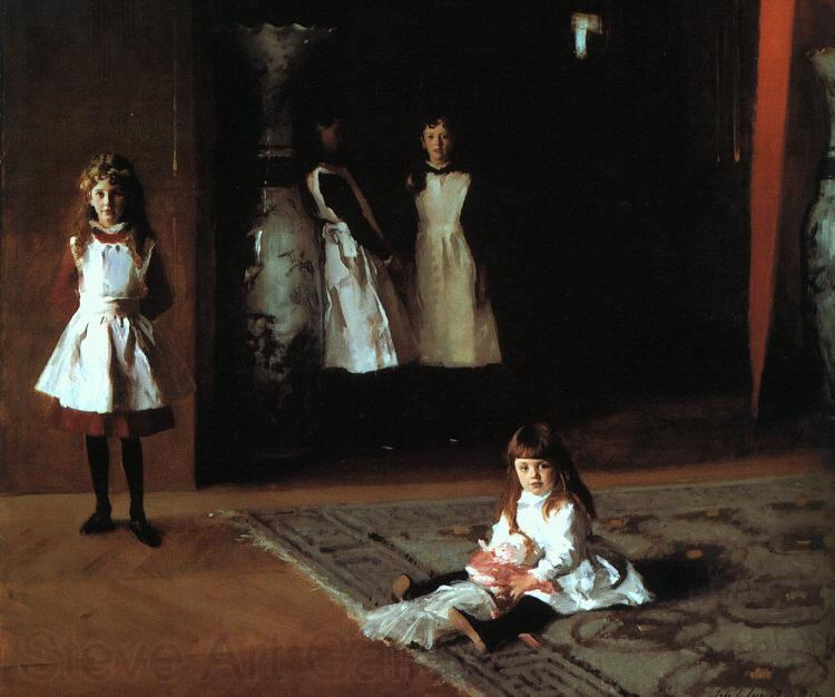 John Singer Sargent The Daughters of Edward Darley Boit