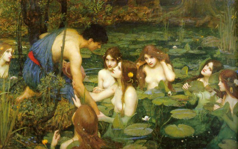 John William Waterhouse Hylas and the Nymphs
