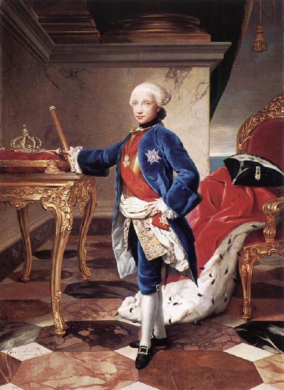 MENGS, Anton Raphael Ferdinand IV, King of Naples