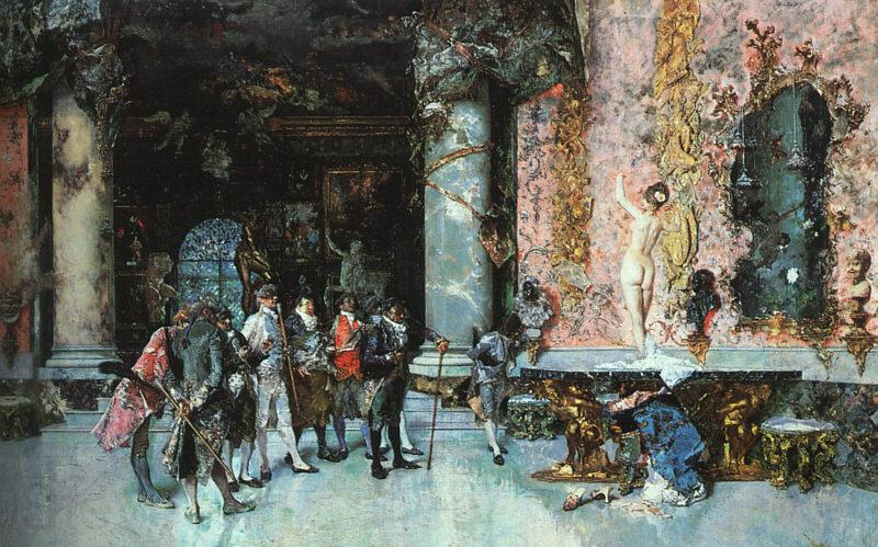 Mariano Fortuny y Marsal The Choice of a Model