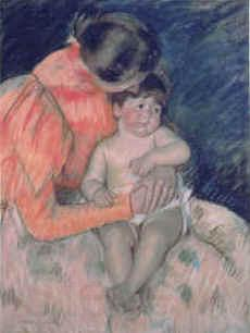 Mary Cassatt Mother and Child  gvv