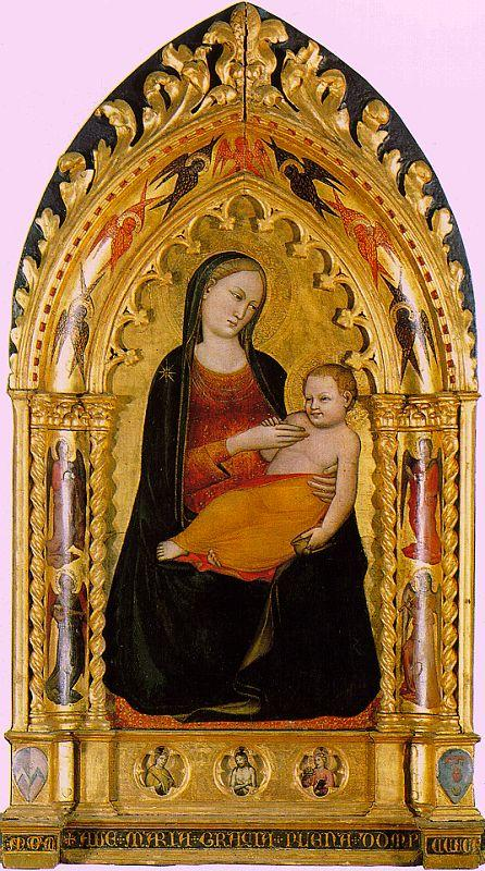 Niccolo di Pietro Gerini Madonna and Child 6
