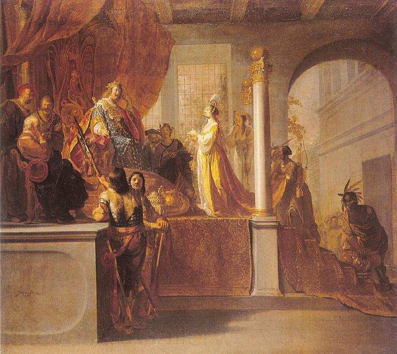 Nicolaus Knupfer The Queen of Sheba before Solomon
