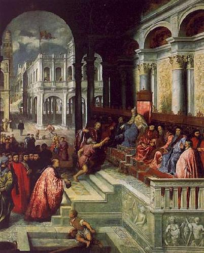 Paris Bordone Presentation of the Ring to the Doges of Venice