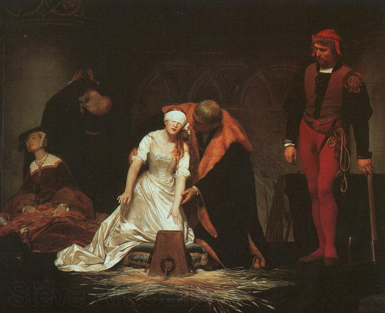 Paul Delaroche The Execution of Lady Jane Grey