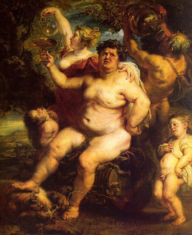 Peter Paul Rubens Bacchus