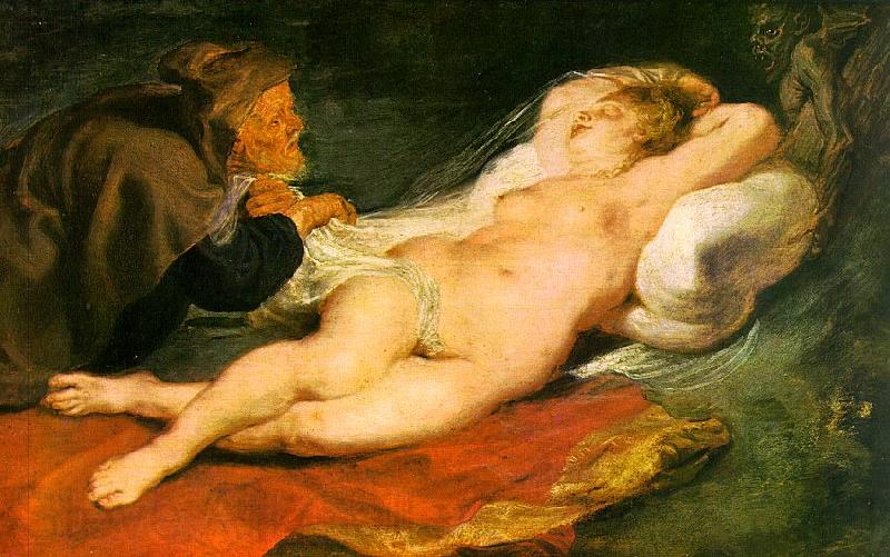 Peter Paul Rubens Angelica and the Hermit