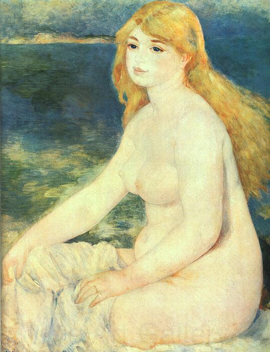 Pierre Renoir Blond Bather