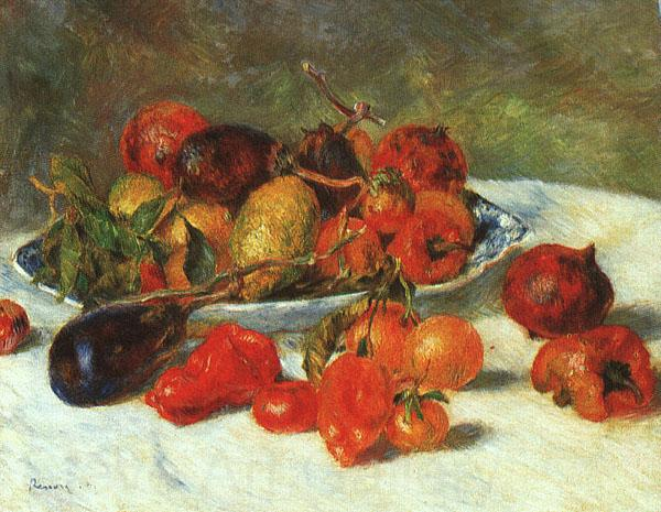 Pierre Renoir Fruits from the Midi