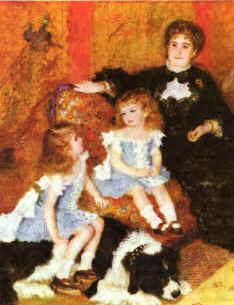 Pierre Renoir Madam Charpentier Children