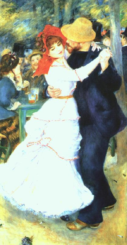 Pierre Renoir Dancing at La Bougival