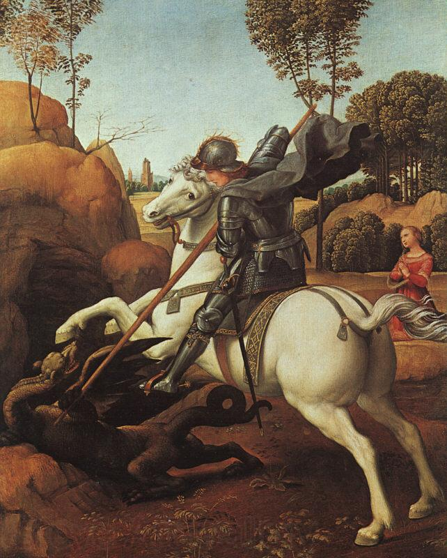 Raphael St.George and the Dragon