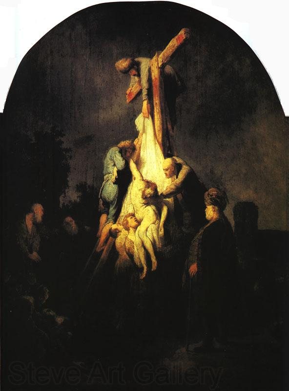 Rembrandt The Descent from the Cross