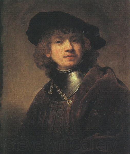 Rembrandt Self Portrait as a Young Man