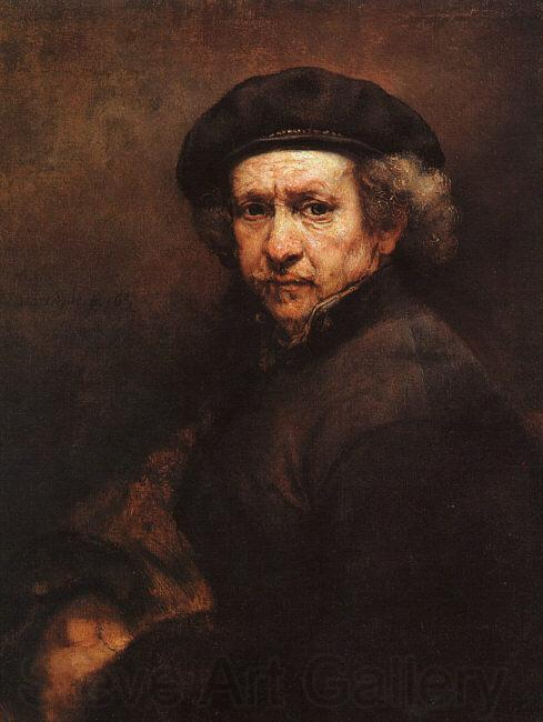 Rembrandt Self Portrait dfgddd