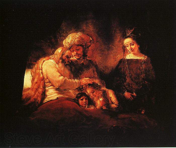 Rembrandt Jacob's Blessing