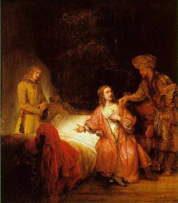 Rembrandt Joseph Accused by Potiphar's Wife