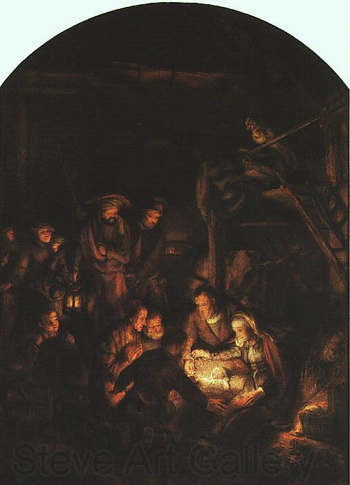 Rembrandt Adoration of the Shepherds