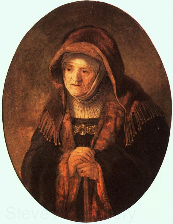 Rembrandt Rembrandt's Mother