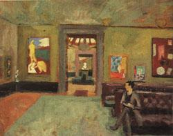Roger Fry A Room in the Second Post-Impressionist Exhibition(The Matisse Room)