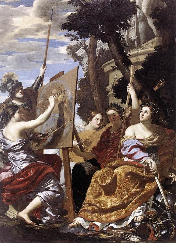 Simon Vouet Allegory of Peace