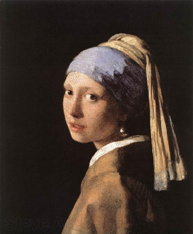 VERMEER VAN DELFT, Jan Girl with a Pearl Earring er