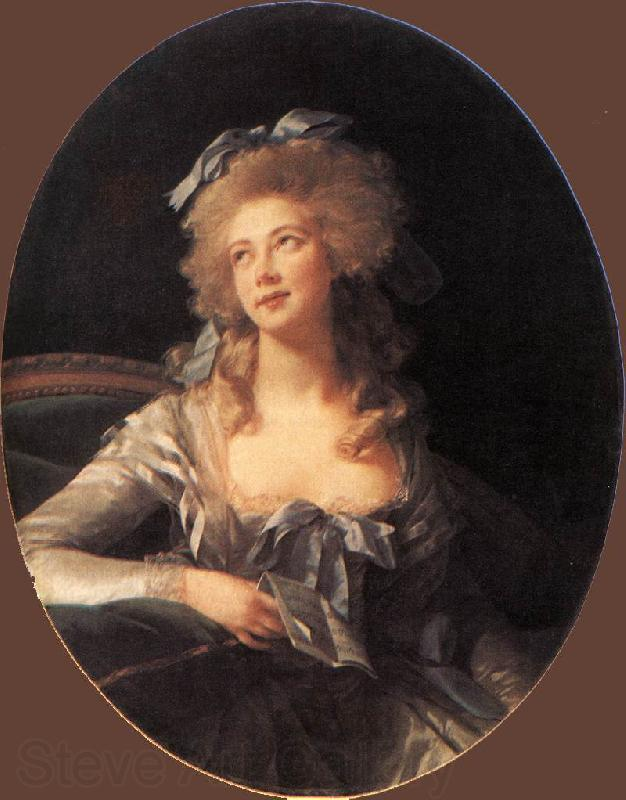 VIGEE-LEBRUN, Elisabeth Portrait of Madame Grand ER