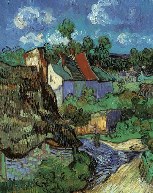 Vincent Van Gogh Houses in Auvers