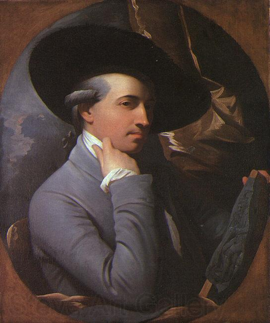 WEST, Benjamin Self-Portrait