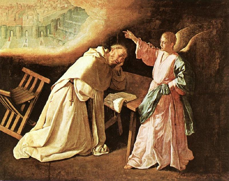 ZURBARAN  Francisco de The Vision of St Peter of Nolasco