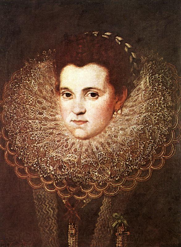 PANTOJA DE LA CRUZ, Juan Portrait of a Woman dh