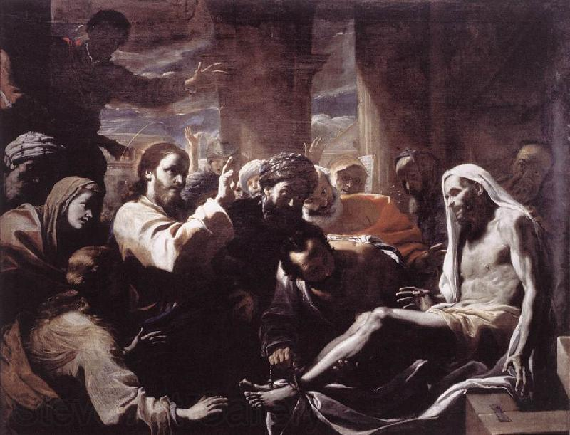 PRETI, Mattia The Raising of Lazarus  hfy