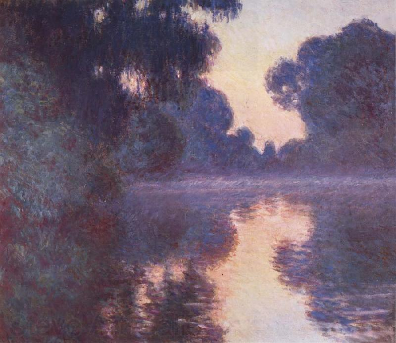 Claude Monet Arm of the Seine near Giverny at Sunrise