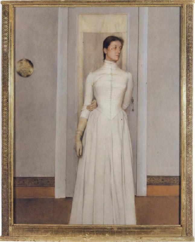 Fernand Khnopff Portrait of Marguerite Khnopff