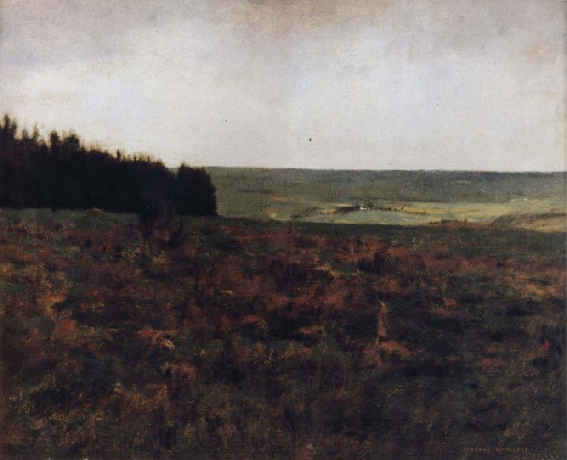 Fernand Khnopff Heaths in the Ardennes