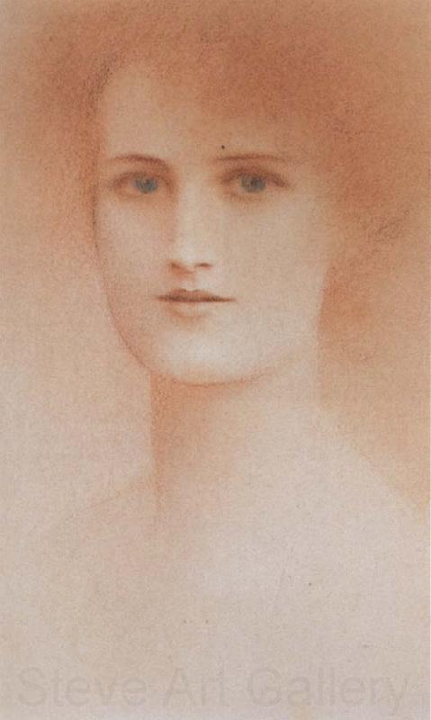Fernand Khnopff Portrait of a Woman