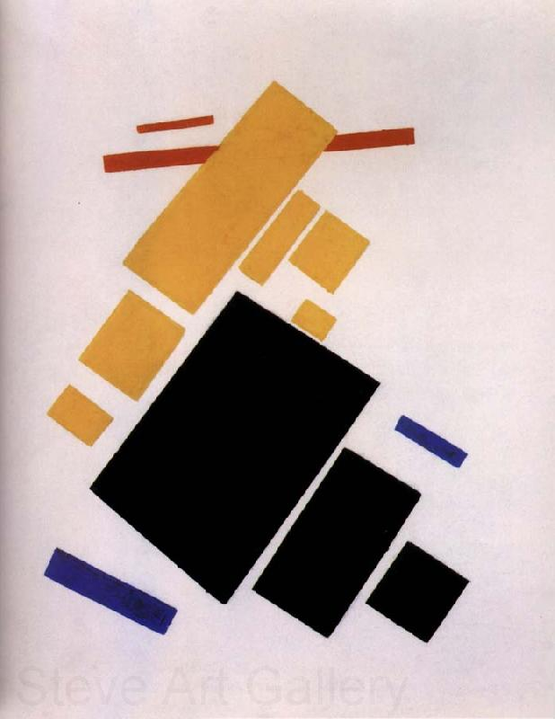 Kasimir Malevich The Plane is flight
