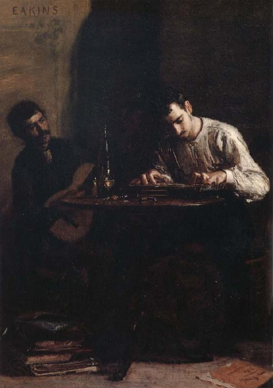 Thomas Eakins Characteristic of Performance