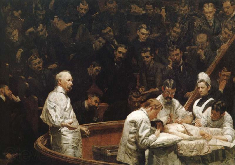 Thomas Eakins Hayes Agnew Operation Clinical