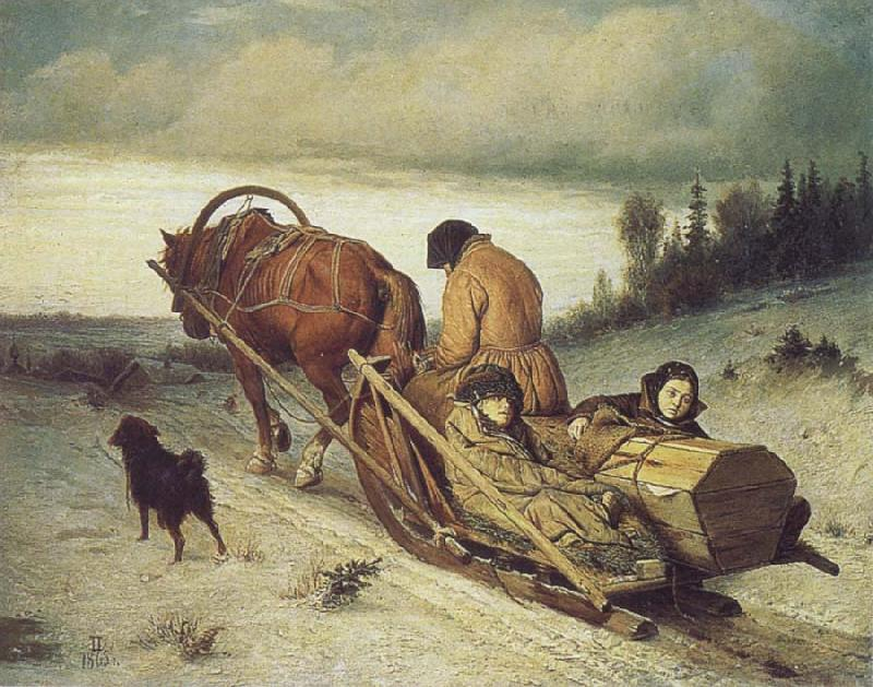 Vasily Perov The Last Farewell