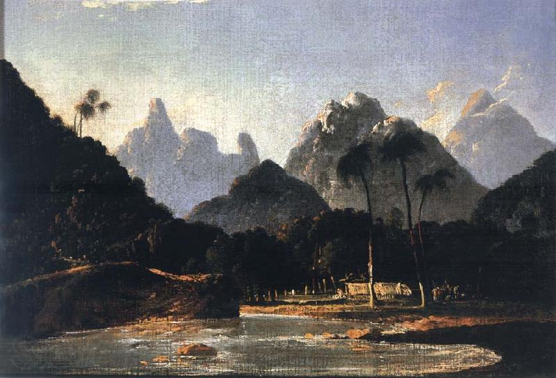 unknow artist A View of Vaitepeha Bay,Tahiti