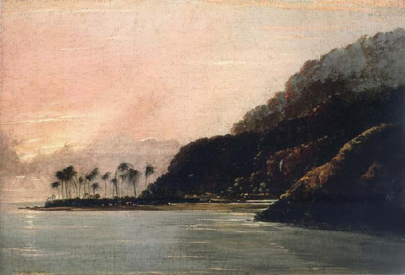 unknow artist A View of Point Venus and Matavai Bay,Looking east