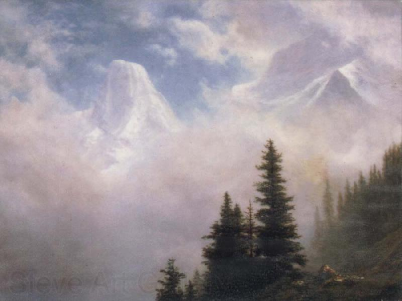 Albert Bierstadt High in the Mountains