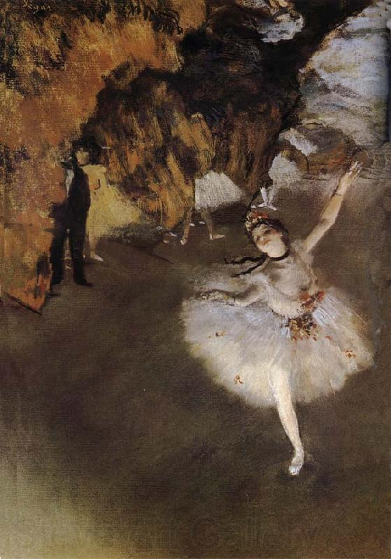 Edgar Degas Playact